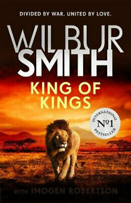 NEW King of Kings By Wilbur Smith Hardcover Free Shipping