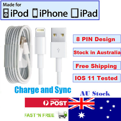 Good Quality Charging / Charger Cable for Iphone - All Models (8PIN) - Fast Post