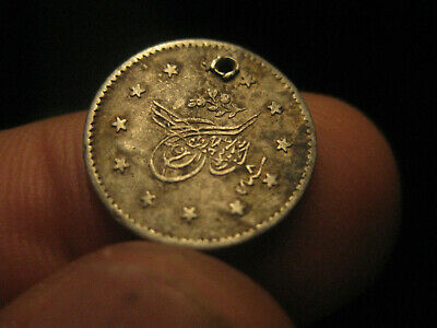 authentic silver coins from the Ottoman Empire