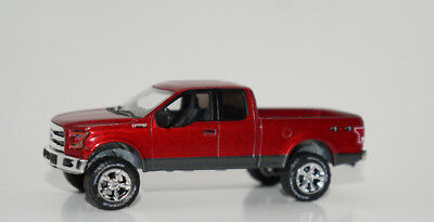 Lifted 2015 F150 >> Custom Lifted 2015 Ford F 150 Pickup Truck 4x4 1 64 Scale Dcp