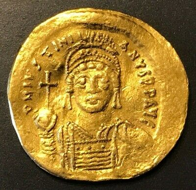 Ancient Byzantine Coin Justin Ii, 565-578 Ad Choice Coin!