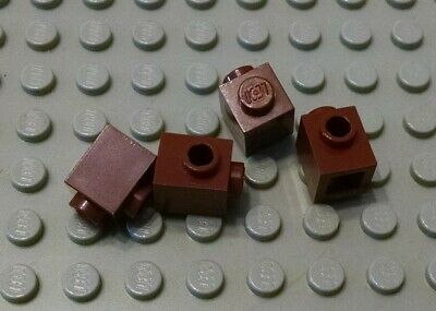LEGO Lot of 8 Brown 1x2 Log Brick Pieces