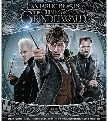 Fantastic Beasts: The Crimes of Grindelwald DVD Harry Potter Prequel Movie