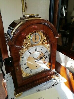 Sinclair Harding 8 Bell Chiming Bracket Clock