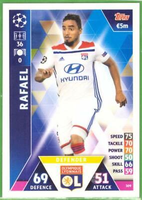 Topps Match Attax Champions League 2018-2019 Card No. 309 Rafael