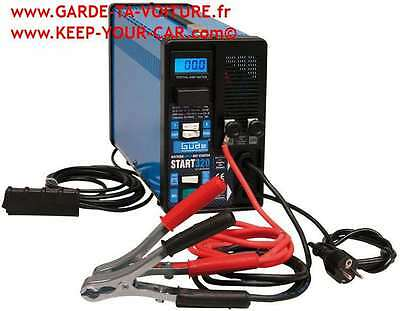 GÜDE chargeur de batterie + starter START 320 - 85068 /battery charger