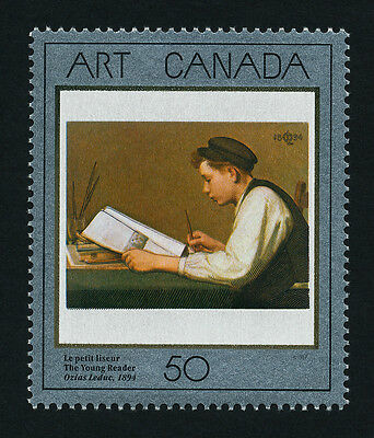 """Canada 1203 MNH Art, Painting, """"The Young Reader"""""""