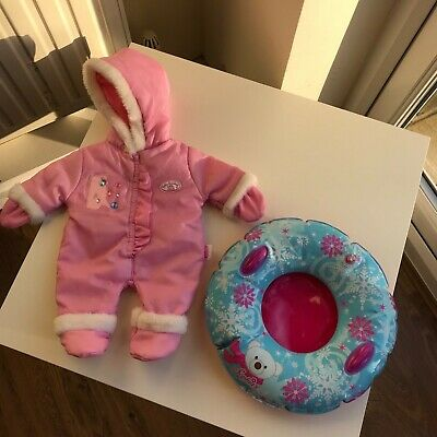Baby Annabell Snow suit and snow ring
