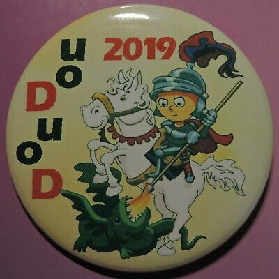 Pin Button Badge Ø56mm Ducasse de Mons 2019 ( DOUDOU ) #1