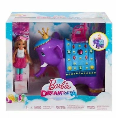 Barbie Dreamtopia Chelsea Doll With Elephant Playset - New and Boxed