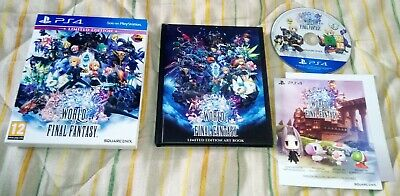 World Of Final Fantasy PS4 pal España artbook limited edition edición...