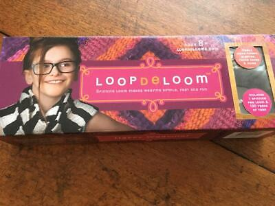 """""""LoopDeLoom"""" Spinning Peg Loom - excellent condition - fun to use weaving loom"""