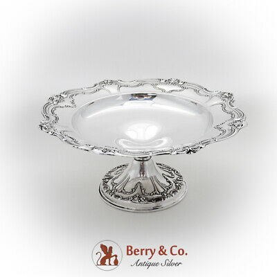 Chantilly Duchess Round Compote Gorham Sterling Silver