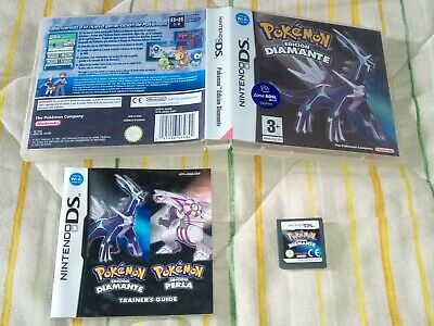 Pokemon Diamante Pal España ds nds nintendo