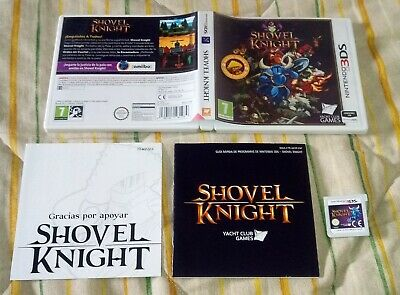 Shovel Knight 3ds pal España nintendo 2ds completo