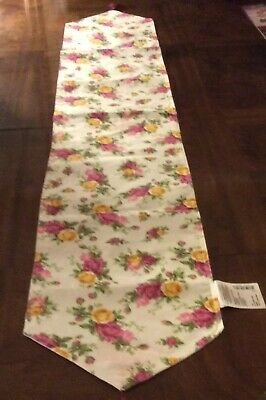 """Royal Albert Old Country Roses Table Runner 72 x 13"""" —DISCONTINUED"""