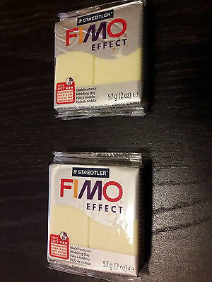 Fimo effect Modelliermasse Polymer Clay  # Staedler 57g Block # Farbe Zitrin