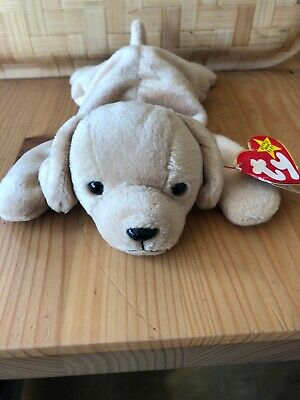 TY Beanie Baby Babies Fetch The Dog 1997 Retired