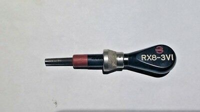 Souriau/ Burndy RX8-3V1  No. 8 Coaxial Pin Extraction Tool
