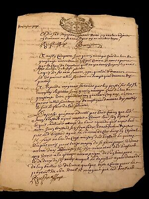 Handwritten and Signed documents 1700s