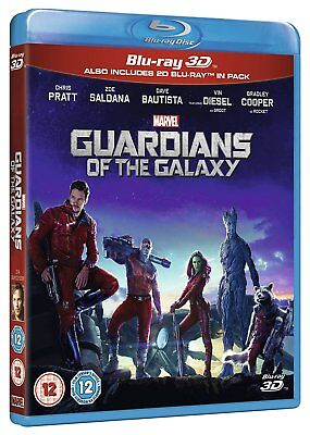 Guardians of the Galaxy Vol. 1 (Blu-ray 2D/3D) BRAND NEW!! MARVEL!!