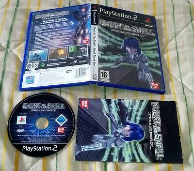 Ghost In The Shell Stand Alone Complex ps2 pal España playstation 2