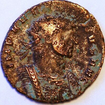 Roman Ancient Coin. The mitonines Aurelianus Imperatore.