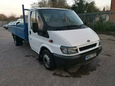 Ford transit pickup 2003 15 ft alloy bed, clean old truck ready for work.