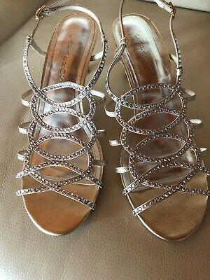 1b385181d Caparros A-List Strappy Rhinestone Dress High Heel Sandals