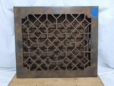 Antique Vintage Craftsman Cast Heat Grate Register Vent Architectural Salvage B