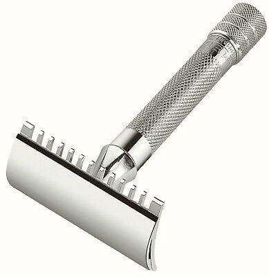 MERKUR 15 C safety razor - Double edge - Open comb - Short handle
