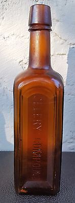 Antique Bottle Paine's Celery Compound Brown Amber Quack Medicine Snake Oil