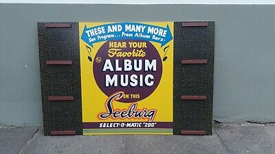 Seeburg V200 VL200 EP Display Musikbox Jukebox