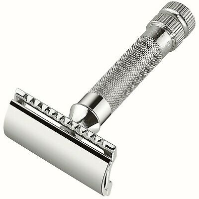 MERKUR 34 C safety razor - Double edge - Closed comb - Short handle