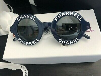 78b62e3092 CHANEL SUNGLASSES NEW Red Silver Chain Red Gradient 5304-A C.1410 S1 ...