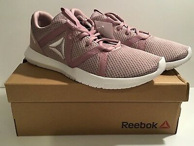 Reebok Reago Essential Women's Shoes Lavendar/Lilac/White Sz 10 Medium-New