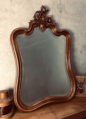 Antique French Mirror / Carved Mirror