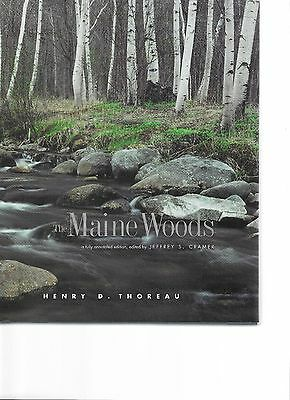 Thoreau The Maine Woods: A Fully Annotated Edition BRAND NEW COPY FREE SHIPPING