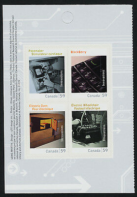 Canada 2488 Left Booklet Pane MNH Canadian Innovations