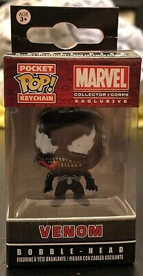 Funko Pocket Pop! Marvel Venom Collector Corps Exclusive NEW keychain key ring