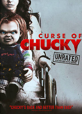 Curse of Chucky (DVD) UNRATED + RATED CULT HORROR MOVIE NEW SEALED CHILD'S PLAY