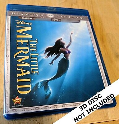 The Little Mermaid (2D Blu-ray Disc + DVD *ONLY*; Diamond Edition) Disney