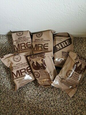 MRE Meals US MILITARY MEALS READY TO EAT