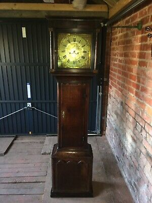 Welsh Grandfather Clock Morris Thomas & Sons Caernarfon, beautifully restored