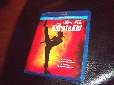 THE KARATE KID Jackie Chan / Jaden Smith BLU-RAY + DVD COMBO PACK