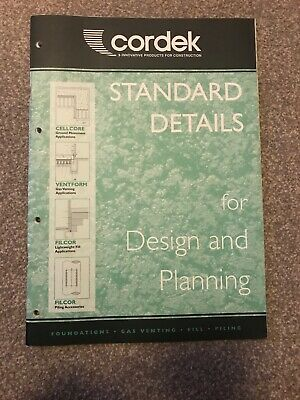 Standard Details For Design And Planning