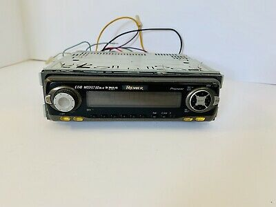 PIONEER DEH P2500 CD Player In Dash Receiver MOSFET 50wx4 W