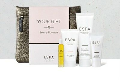 Rs8# Espa Your Gift Beauty Booster 4 Piece | Super  Charge Your Skin | Worth £42