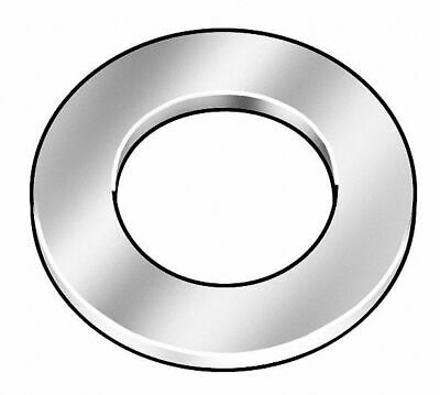 """CAI Generic 1""""x2"""" O.D., Thick Flat Washer, Steel, Through Hardened, Zinc Yell..."""