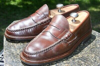 ed2a5fd8638 ALDEN CAPE COD Penny Loafer Beefroll Leather Shoes Mocc Mens Sz 8 D ...